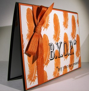 B.Y.O.P. Grad Card