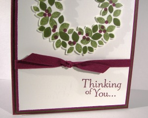 Wondrous Wreath and My Plum Trees...