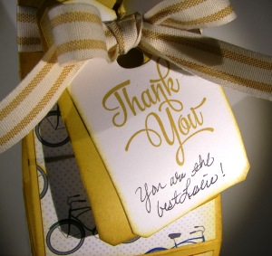 Schoolhouse Thank You Gift