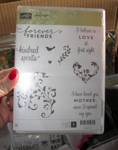 Sneak Peek from the Coming Stampin'Up Catalog