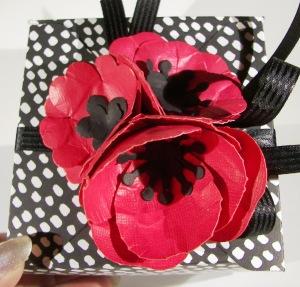 Bouquet Bigz L Die Meets Thrift Store Skirt